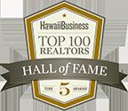 Hall of Fame top Realtor